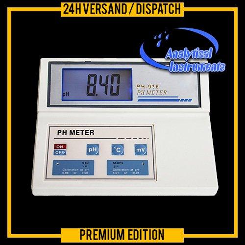 OCS.tec P27 Tafelapparaat PH/temperatuur meter meetinstrument laboratorium onderzoek school praktijk