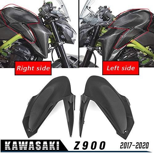 LoraBaber Z900 Tankfront Seitenverkleidung Verkleidung Verkleidung Motorhaube Gasschutz Für 2017 2018 2019 2020 Kawasaki Z 900 Motorradzubehör