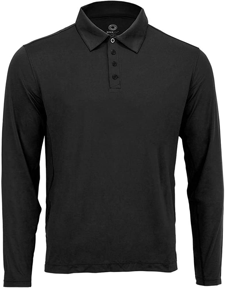 BloqUV Men's Collared Long Sleeve Top