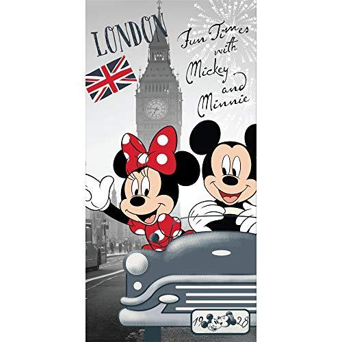 Disney Minnie Badetuch Strandtuch 70 x 140 100% Baumwolle