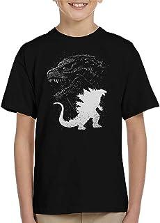 Cloud City 7 Inking Godzilla Kid's T-Shirt