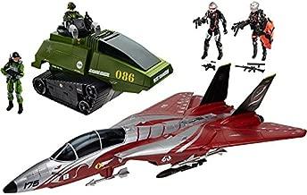 G.I. Joe 50th Anniversary Crimson Strike Set with Cobra Scythe & GI Joe Chimera & 4 Action Figures (2015 SDCC Comic-Con Exclusive)