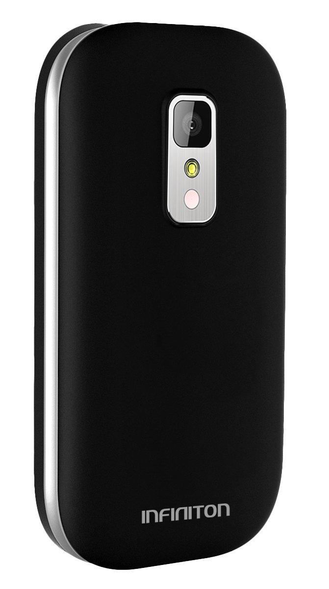 TELÉFONO MÓVIL INFINITON T1 Negro: Amazon.es: Electrónica