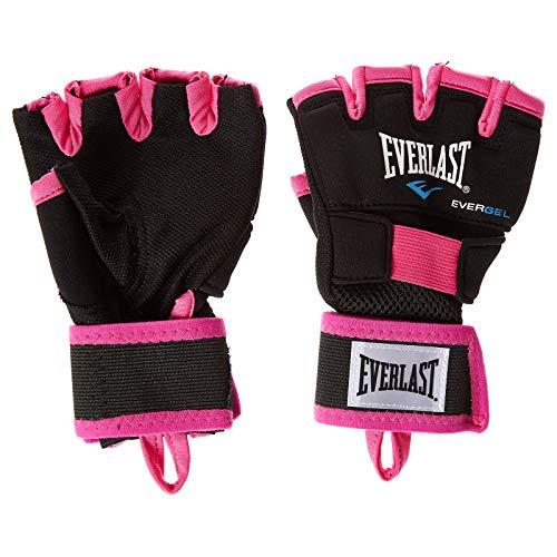 Everlast Evergel - Equipo de Boxeo Unisex para Adultos, Negro/Rosa, M/L