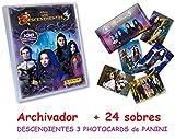 Panini Archivador + 24 Sobres DESCENDIENTES 3 PHOTOCARDS