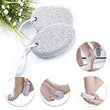 YFGlgy Piedra pómez Scrubber Foot 3Pcs - Piedra pómez pedicura Herramientas Piel Dura removedor de Callos exfoliación de pies