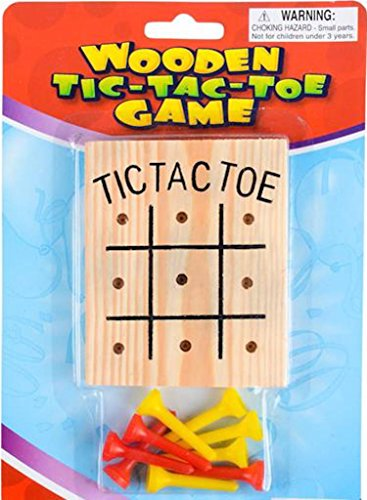 WOODEN TIC-TAC-TOE GAME (The Best Restaurant Games)