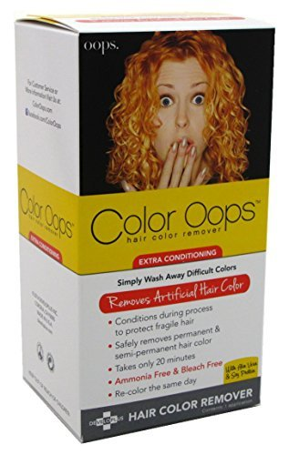 Color Oops Hair Color Remover Extra Conditioning 1 Each by Color Oops