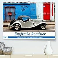 Englische Roadster - Oldtimer Schmuckstuecke der Fuenfziger Jahre (Premium, hochwertiger DIN A2 Wandkalender 2022, Kunstdruck in Hochglanz): Legendaere britische Cabrios in Havanna (Monatskalender, 14 Seiten )