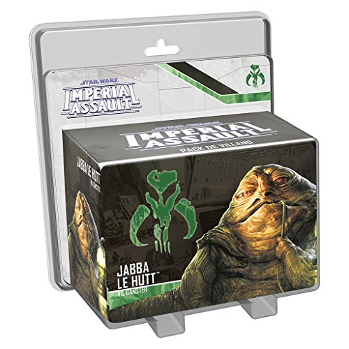 Fantasy Flight Games- Jabba el Hutt, colección Imperial Assault (FFSWI36)