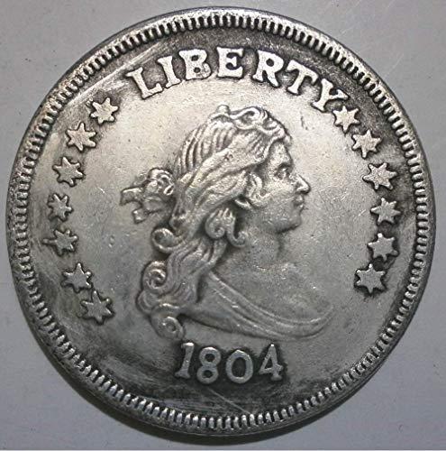DDTing Best Morgan US Dollars (1804–1926) Münze zum Sammeln - US Dollar USA Old Original Pre Morgan Dollar goodService 1804