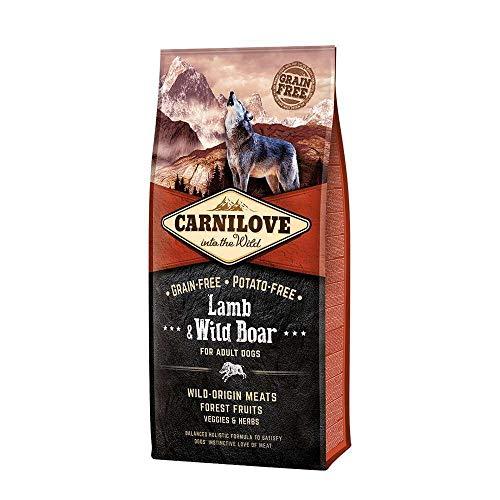 Carnilove Lamb & Wild Boar Dog Food 12kg