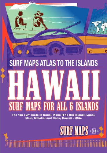 SurfMaps USA Hawaii: 2010 Edition (English Edition)