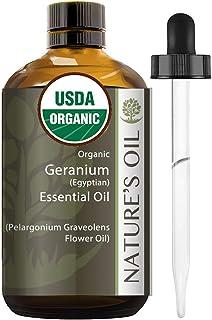 Best Geranium Essential Oil Pure Certified Organic Therapeutic Grade 60ml