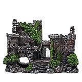 Acuario, paisajismo, ladrillo, jardín de piedras, simulación de resina, decoración de acuario, accesorio decorativo, tanque de peces, decoración de decoración, decoración de resina