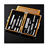 Set manicura Sistema de manicura profesional del clavo Herramientas Clippers pedicura kit de cuidado de uñas y estética de acero inoxidable herramientas de uso doméstico Clipper Set Manicura Pedicura