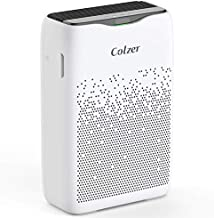 COLZER EPI-186 Air Purifier for Home Large Room with True HEPA Filter & Activated Carbon Filter to Remove Dust, Pet Dander, Smells in Rooms up to 1800 Sq Ft (CARB, ETL Listed) Purify Air