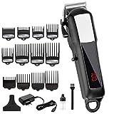 Potente cortadora de cabello eléctrica cortadora de cabello profesional cortadora de cabello inalámbrico herramienta...