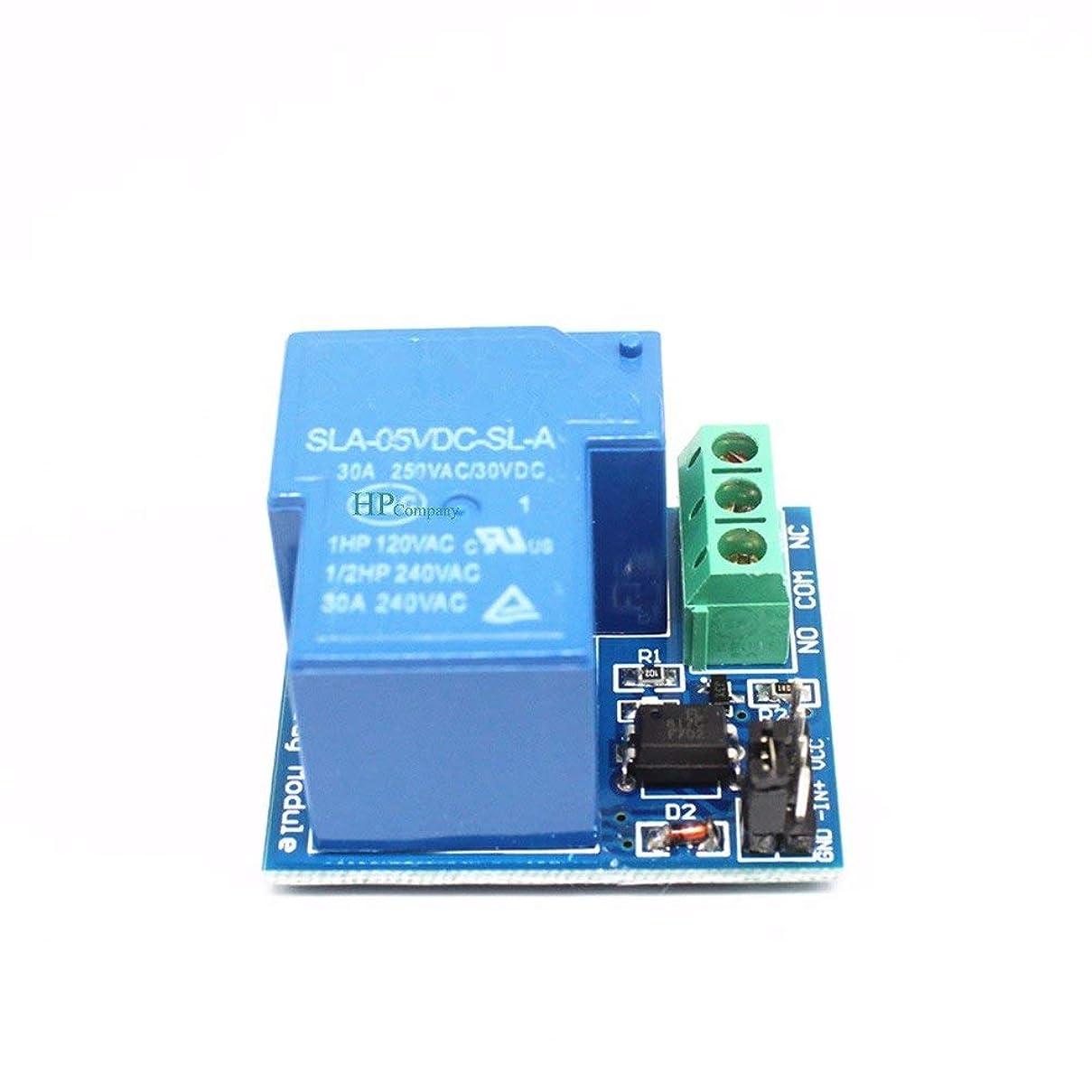 飢楽観的メンタルWillBest 30A relay module 5V A type (normally open type) optocoupler isolation relay module