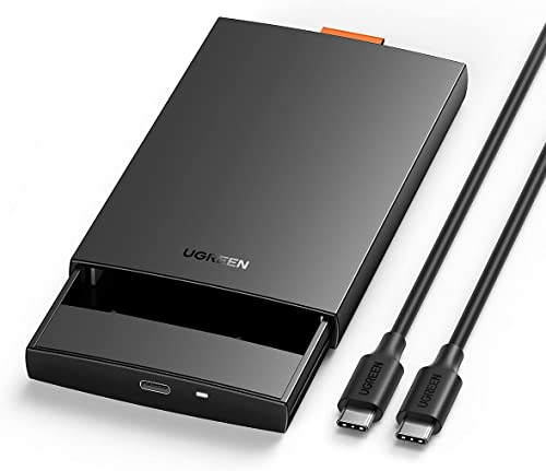 """high quality UGREEN USB C Hard Drive Enclosure USB C 3.1 Gen 2 to SATA Adapter for outlet online sale 2.5"""" SATA SSD HDD 6Gbps High-Speed Support UASP SATA III Compatible sale with MacBook Pro Air WD Seagate Toshiba Samsung Hitachi online sale"""