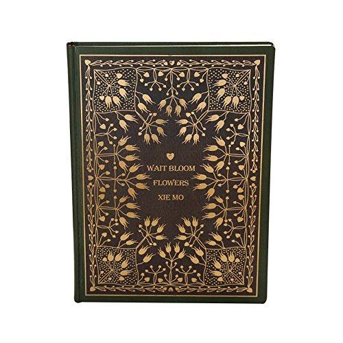Cosanter Notizbuch mit Vintage-Blumendruck, Hardboard-Einband, Linien, Reisetagebuch, Geschenk