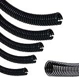 Tubo de alambre corrugado para protección, tubo flexible para coche