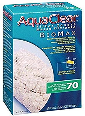 Aquaclear A1373 70-Gallon Biomax,White