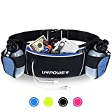 URPOWER Running Belt Multifunctional Zipper Pockets Water Resistant...