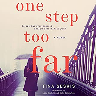 One Step Too Far audiobook cover art