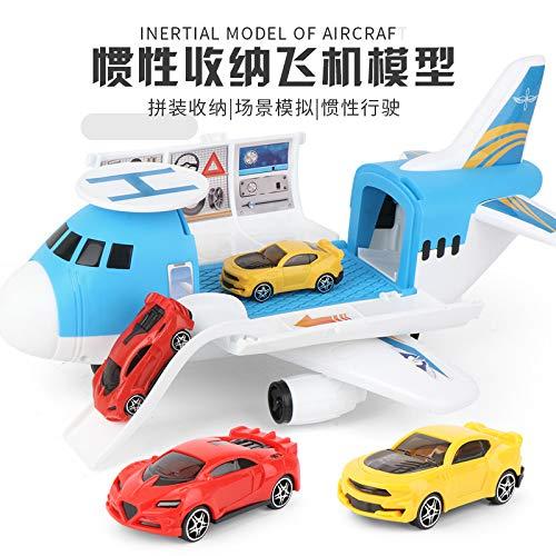 DishyKooker Kinder Flugzeug Spielzeug Simulation Drohne Speicher Autos Tragen Passagier Inertial Gleitflugzeug Kinder Jungen Mädchen Geburtstagsgeschenk