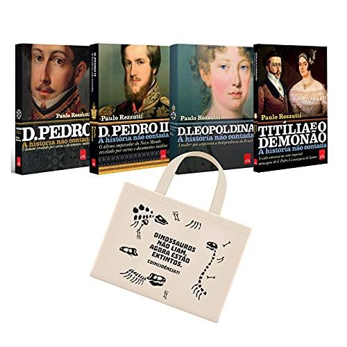Combo História Do Brasil - 4 Livros + Ecobag