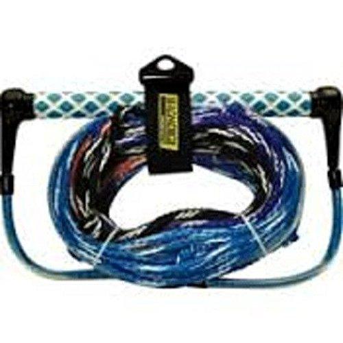 Seachoice 86811 4-Section Water Ski Rope, 15-Inch EVA Grip Handle, 75 Feet Long