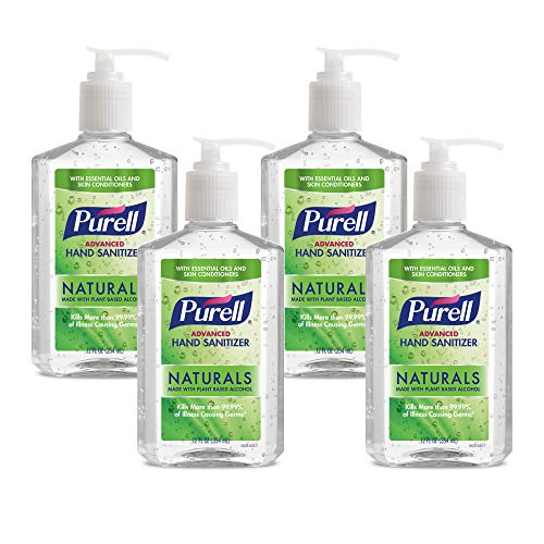 PURELL Advanced Hand Sanitizer Naturals with Plant Based...
