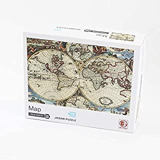 1000 Pieces Jigsaw Paper Puzzles, Home Wall Decor - MAP