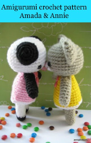 Amazon.com: Amigurumi Pattern for a Bee, Ladybug and Flowers (Easy ... | 500x320