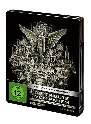 Die Tribute von Panem - Limited Complete Steelbook Edition (4 Disc 4K Ultra-HD) (+ 4 Blu-ray)