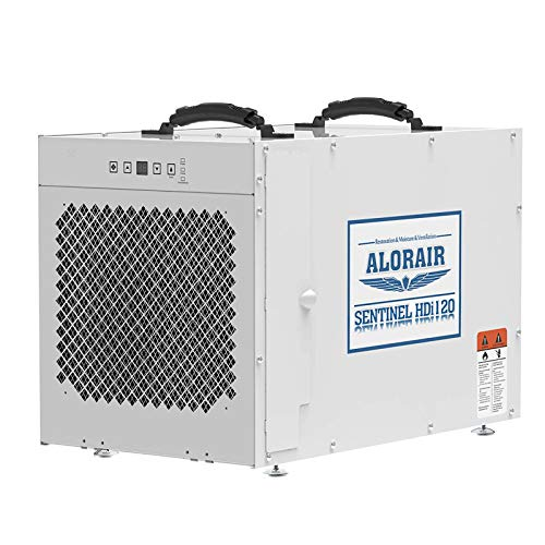 ALORAIR Sentinel HDi120 Commercial Dehumidifier with Pump, 235 Pints Whole Homes Dehumidifier for Crawl Spaces, Basements, up to 3,300 sq. ft. 5 Years Warranty, cETL, Optional Remote Monitoring