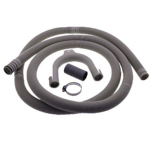 Whirlpool 481953028534 accessoires/waterleidingen/systeem 600 Etna Philips magneetdoorn Bauknecht Ignis Wrigh Tone Neutrale Erres Vaatwasser Afvoerslang