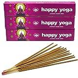 Incenso Green Tree - Happy Yoga - Set di 3 scatole