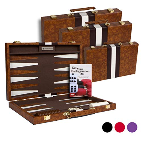 Top Backgammon Set - Classic Board Game Case - Best...