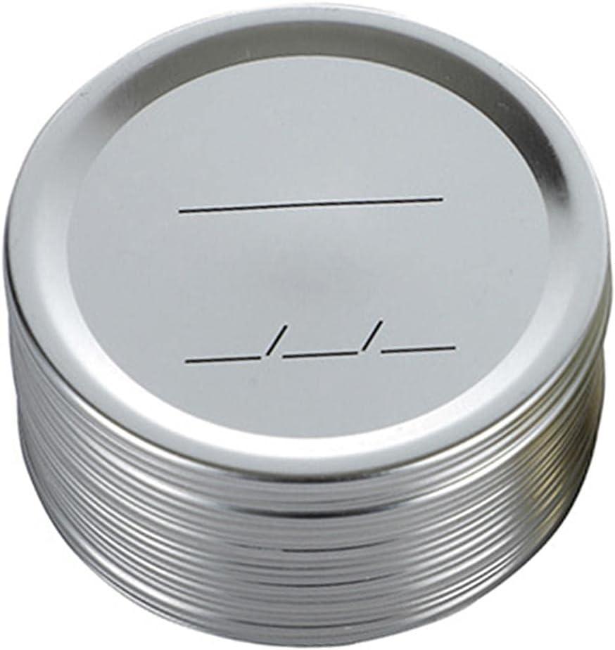 24-Count canning Arlington Mall Lids Regular Mouth Jar For Li Popular standard Lid Mason
