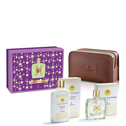 English Lavender Edt 90 ml + Bagnoschiuma 400 ml + Beauty ATKINSONS Cofanetto Unisex Set Set