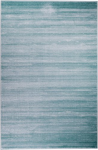 Summit 101 New Turquoise Area Rug Modern Abstract Many Sizes Available , DOOR MAT 22 inch x 35 inch