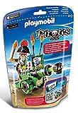 PLAYMOBIL - Pirates Cañón Interactivo con Capitán Pirata Muñecos y Figuras, Color Multicolor (6162)