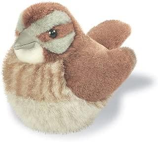 Song Sparrow - Audubon Plush Bird (Authentic Bird Sound)