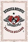 1art1 Rebecca Bonbon - Französische Bulldogge Poster (91 x