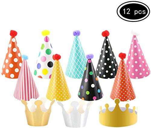 YFOX 11 Partyhüte Geburtstagsfeier Dekorationen