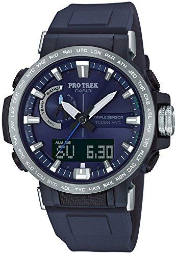 [カシオ] 腕時計 プロトレック クライマーライン 電波ソーラー PRW-60-2AJF メンズ ブルー