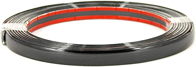 tuning autoadhesiva 15 mm x 5 m pl/ástico flexible Autohobby Moldura de cromo universal
