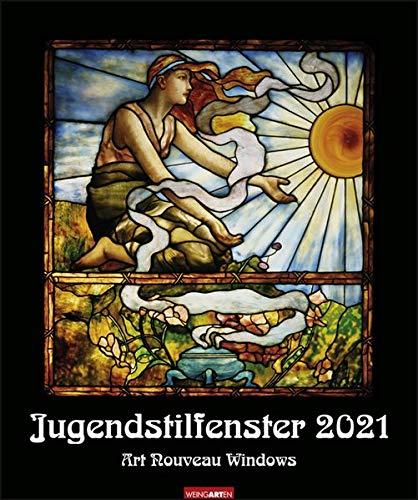 Jugendstilfenster Kalender 2021